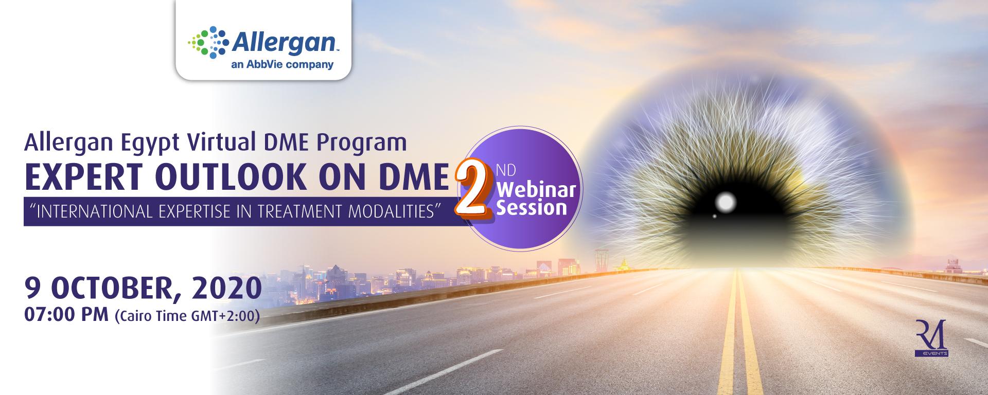 2nd Allergan Egypt Virtual DME Program
