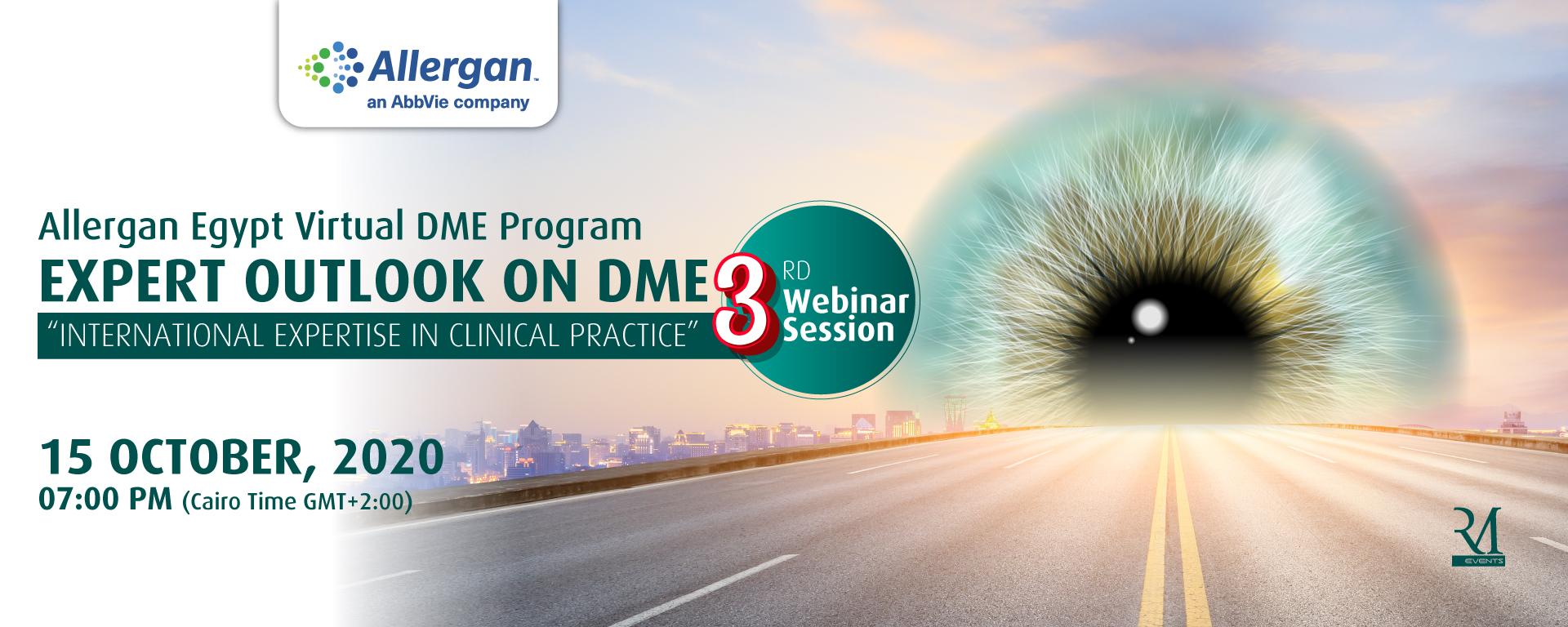 3rd Allergan Egypt Virtual DME Program