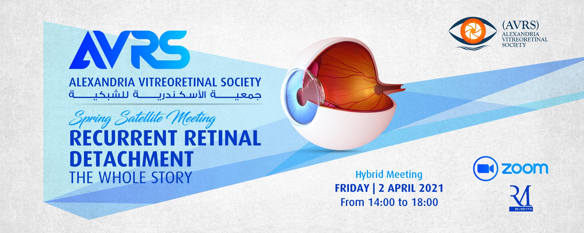 Alexandria Vitreoretinal Society(AVRS)